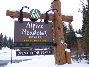 alpine meadows ski resort lake tahoe image