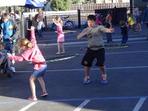 downtown truckee thursdays kids play area image