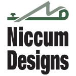 niccum designs truckee tahoe cabinet maker logo